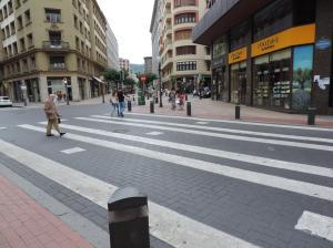 Gran paso de peatones Bilbao
